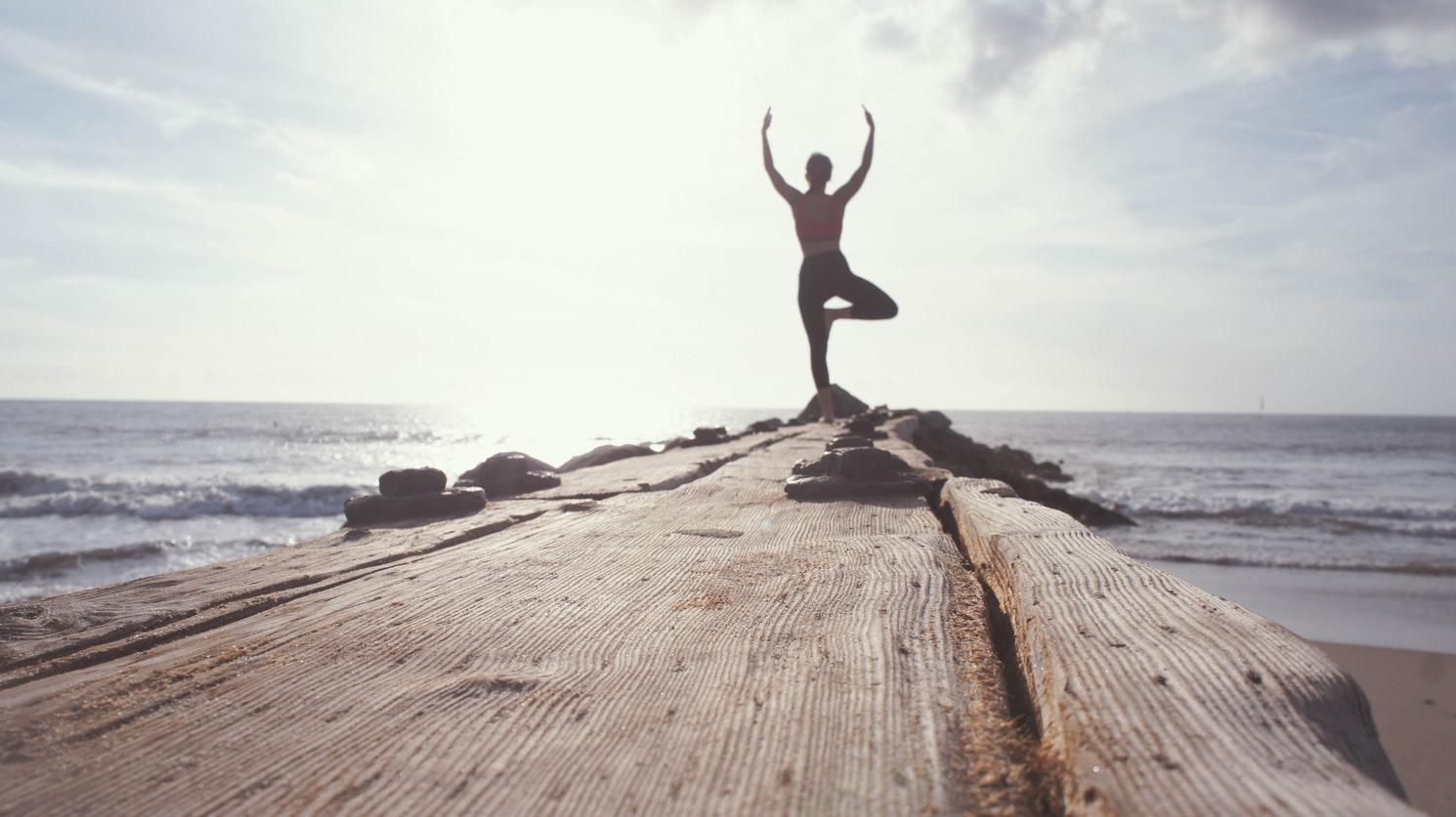 keeping up yoga while traveling