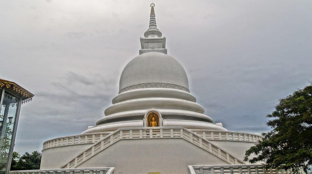 Japanese Peace Pagoda Rumassala